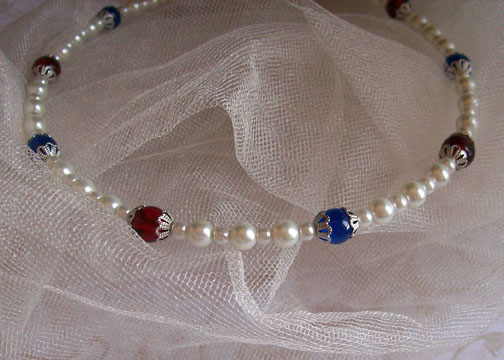 Custom Pearl Headband by GypsyBling